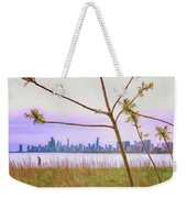 Chicago Skyline - The View From Montrose Point Weekender Tote Bag