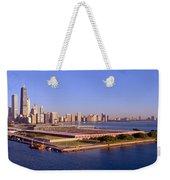 Chicago Skyline, Filtration Plant Weekender Tote Bag