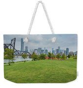 Chicago Skyline From The Southside Weekender Tote Bag