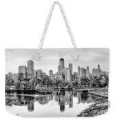 Chicago Skyline - Lincoln Park Weekender Tote Bag