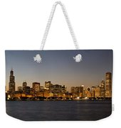 Chicago Skyline Panorama Weekender Tote Bag