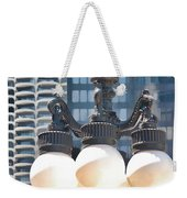 Chicago Street Lamps Weekender Tote Bag