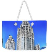 Chicago The Gothic Tribune Tower Weekender Tote Bag