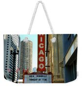 Chicago Theater - 1 Weekender Tote Bag