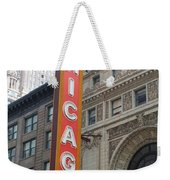 Chicago Theater Sign Weekender Tote Bag