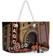 Chicago Theatre Weekender Tote Bag