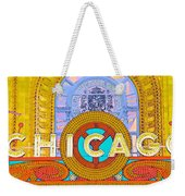 Chicago Theatre Weekender Tote Bag