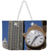 Chicago Time Weekender Tote Bag