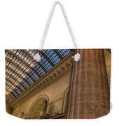 Chicago Union Station Column Weekender Tote Bag