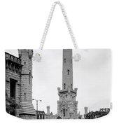 Chicago Water Tower 1933 Weekender Tote Bag