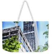 Chicago Water Tower Place Facade And Signage Weekender Tote Bag