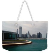 Chicago Waterfront Weekender Tote Bag