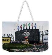Chicago White Sox Home Coming Weekend Scoreboard Weekender Tote Bag