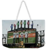 Chicago White Sox Scoreboard Thank You 12 22 44 3 Weekender Tote Bag