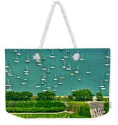 Chicago's Dusable Harbor  Weekender Tote Bag