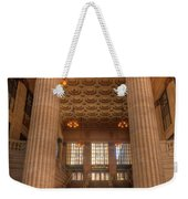 Chicagos Union Station Entry Weekender Tote Bag
