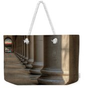 Chicagos Union Station Exterior Weekender Tote Bag