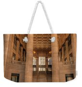 Chicagos Union Station Waiting Hall Weekender Tote Bag