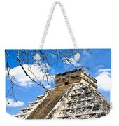 Chichen Itza And Tree Weekender Tote Bag