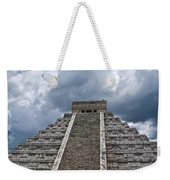 Chichen-itza Pyrmid In Mexico Weekender Tote Bag