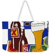 Chichis Y Cervesas Weekender Tote Bag by Rojax Art