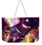 Chick Bird Breeding Down Protect  Weekender Tote Bag