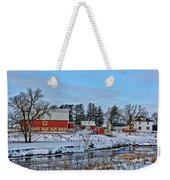Chickasaw Winter Weekender Tote Bag