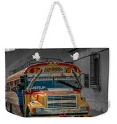 Chicken Bus - Antigua Guatemala Weekender Tote Bag