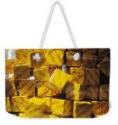 Chicken Cubes Weekender Tote Bag