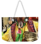 Pow Wow Chicken Dancer Weekender Tote Bag