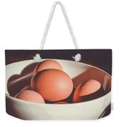 Chicken Eggs Weekender Tote Bag