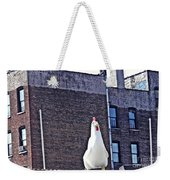 Chicken Little In Manhattan Weekender Tote Bag