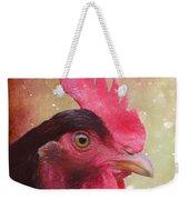 Chicken Portrait - Painting Weekender Tote Bag