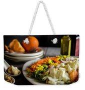 Chicken Salad With An Orange Twist Weekender Tote Bag
