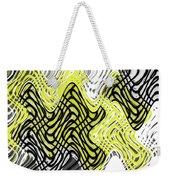 Chicken Scratch Abstract Weekender Tote Bag