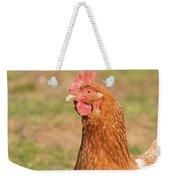 Chicken Strutting Weekender Tote Bag