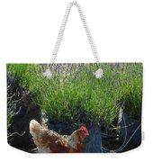 Chicken With Lavender  Weekender Tote Bag