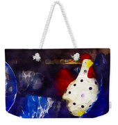 Chickens In The Kitchen Weekender Tote Bag