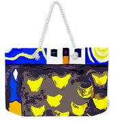 Chickens On The Farm 2 Weekender Tote Bag