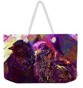 Chicks Hatched Fluffy Young Animal  Weekender Tote Bag