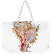 Chicoreus Ramosus Shell Weekender Tote Bag by Amy Kirkpatrick