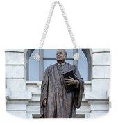 Chief Justice Edward Douglas White Statue- Nola Weekender Tote Bag