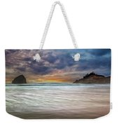 Chief Kiawanda Rock At Cape Kiwanda In Oregon Coast Weekender Tote Bag