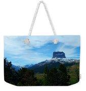 Chief Mountain, Emerging Weekender Tote Bag