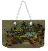 Chieftain Tank Abstract Weekender Tote Bag