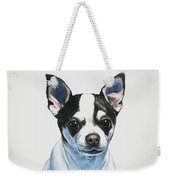 Chihuahua Black Spots With White Weekender Tote Bag
