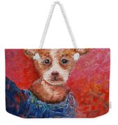 Chihuahua Blues Weekender Tote Bag by Nadine Rippelmeyer