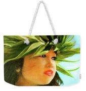 Child Keiki In Hawaiian No# 84 Weekender Tote Bag