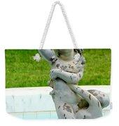 Child On Swan Weekender Tote Bag