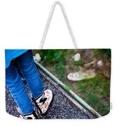 Child Reflection Weekender Tote Bag